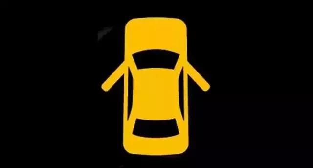 学车指南 驾驶技巧 仪表盘警示灯亮了是什么意思          车门提示灯